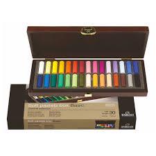 Royal Talens Rembrandts Artist Quality Soft Pastels Box Set General Selection 15 Or 30