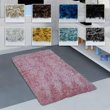 moderne badematte badezimmer teppich shaggy weich in versch