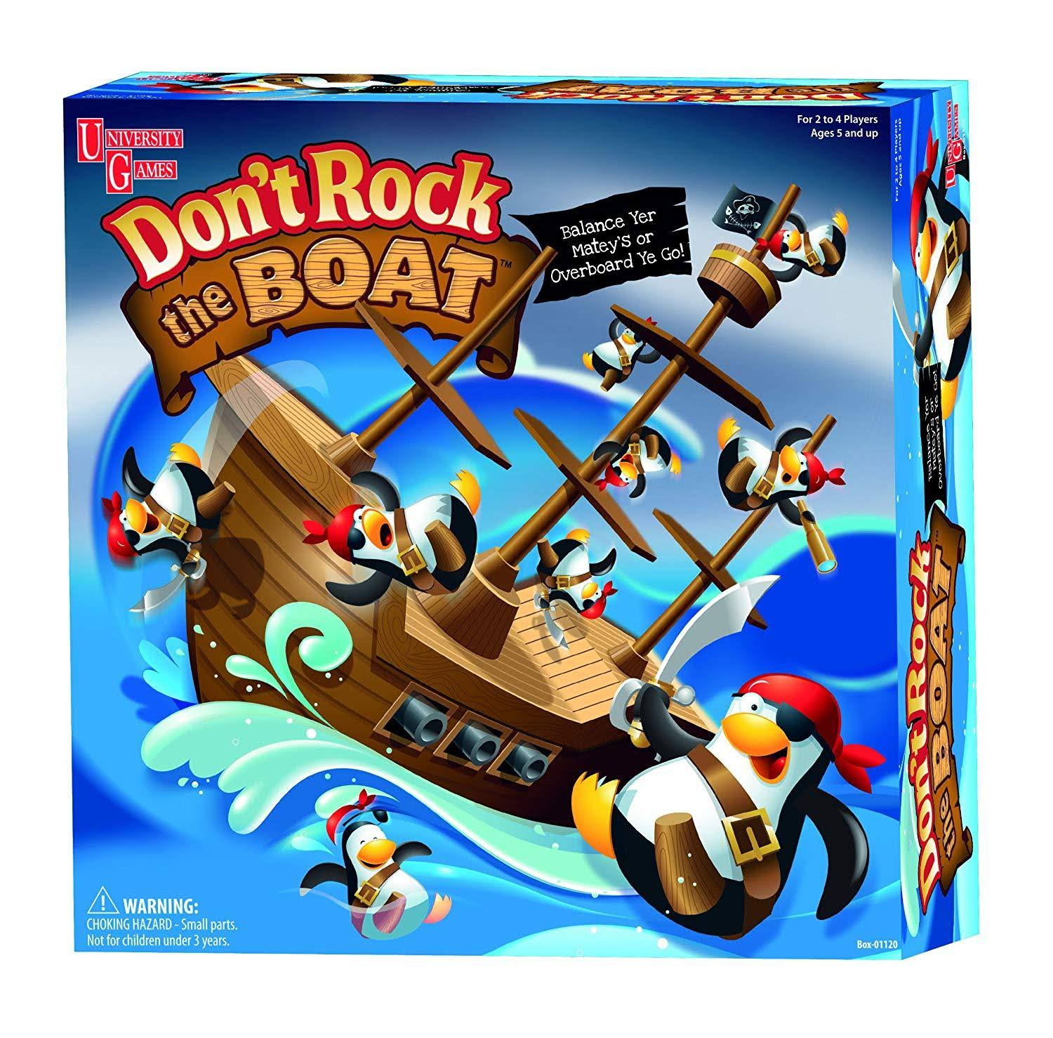 Don't Rock The Boat Game (Bilingual)