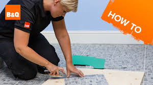 Tiling A Bathroom Floor Around A Toilet by How To Lay Vinyl Tiles U0026 Carpet Tiles Part 3 Tiling Around