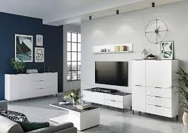 cary wohnzimmer komplettset 2 weiß marmor günstig möbel küchen büromöbel kaufen froschkönig24