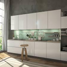 glasrückwand küche spritzschutz grün grau lindgrün ref 8715 6mm