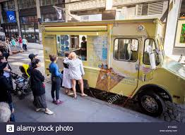 The Van Leeuwen Artisanal Ice Cream Truck In Soho In New York On ... Fifteen Classic Novelty Treats From The Ice Cream Truck Bell The Menu Skippys Hand Painted Kids In Line Reese Oliveira Shawns Frozen Yogurt Evergreen San Children Slow Crossing Warning Blades For Cream Trucks Ben Jerrys Ice Truck Gives Away Free Cups Of Cherry Dinos Italian Water L Whats Your Favorite Flavor For Kids Youtube