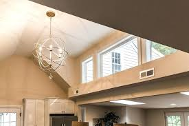 Interior Ceiling Lights Awesome Dining Room Light Fixtures For High Ceilings With Chandelier End F Living