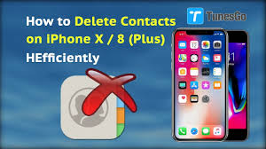 How to Delete Contacts on iPhone X 8 Plus Efficiently