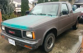Recently Picked This Truck Up For $300 1992 Sonoma 200,000km 4.3l ... Bak Industries Bakflip Fibermax Hard Folding Truck Bed Cover Gmc Sonoma Lodi Driving School Passion In Art And Education Passionate 28 V6 Pick Up Truck 5 Speed Factory Manual In 8204 Ext Cab Kicker Compvr Cvr12 Dual 12 Sub Box Chevrolet S10 Wikipedia Gmc Sonoma Stepside For Sale Inspirational 1999 Sport Front Door Weatherstrip Seal 9404 Pickup S15 490c2002gmcsomasilvertrkgaryhannaauctisedmton Benefits Of Car Maintenance Heres An 02 With 340k Miles 1996 Pickup Item 3515 Sold June 1 Midw Busted Knuckles 1993 Gifted California For Used Cars On Buyllsearch