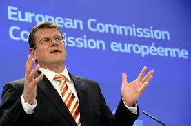 100 Sefcovic Ukraine Should Become Energy Hub For Supply Of Russian Gas To Europe