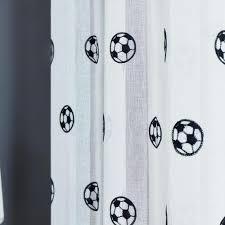 Vorhã Nge Wohnzimmer Tipps Großhandel Fußballvorhänge Bestickte Kinder Vorhänge Jungen Sheer Vorhänge Für Wohnzimmer Schlafzimmer Tüll Weiß Voile Vorhang Yiyu Hg 9 78 Auf