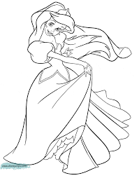 The Little Mermaid Coloring Pages 4