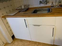 ikea metod häggeby küchenzeile 220cm backofen kochplatte spüle