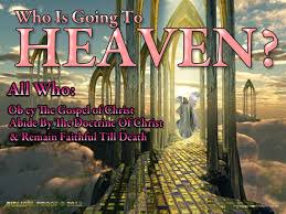 Whos Going To Heaven