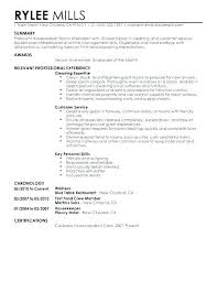 Fast Food Manager Resume Cover Letters For Restaurant Jobs Sample Source