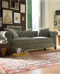 martha stewart collection saybridge fabric sofa custom colors