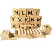 Standard Scrabble Tile Distribution by Tile Games Fuhaieec 200 Wood Scrabble Tiles Ebay