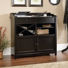 Sauder Edge Water Writing Desk by Amazon Com Sauder Edge Water Side Board Estate Black Buffets