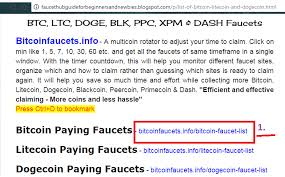 Doge Faucet For Faucethub by How To Earn Bitcoin Litecoin U0026 Dogecoin From Faucethub A Guide