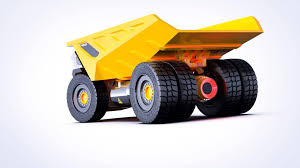 100 Largest Dump Truck TurbinePowered Volvo Rendered To Do All The