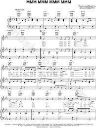 Crash Test Dummies Mmm Mmm Mmm Mmm Sheet Music In C Minor