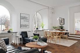 un piso sueco de planta poco convencional delikatissen