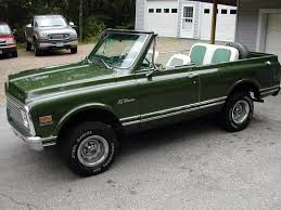 100 Convertible Chevy Truck K5 Blazer Seats Match Paint LOVE BlazerJimmyScout Pinterest