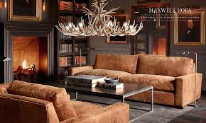 Restoration Hardware Lancaster Sofa Leather by Creative Of Restoration Hardware Leather Living Room Restoration