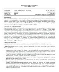 Executive Assistant Resumes Examples Administrative Samples Old Version Resume Template