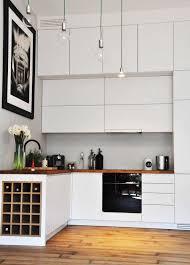 holz arbeitsplatten machen die moderne küche gemütlich
