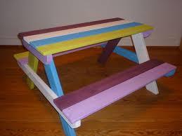 best 25 kids picnic table plans ideas on pinterest kids picnic