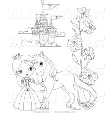 Royalty Free Stock Unicorn Designs Of Coloring Book Pages