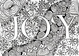 Printable DIY Zendoodle JOY Card Pdf From Kauai Hawaii Mele Kalikimaka Christmas Doodle Black White Zentangle Inspired Art
