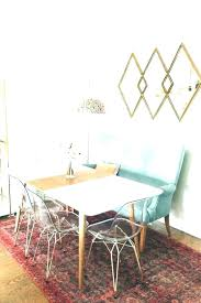 Dining Table With Settee Bench For Farmhouse Within