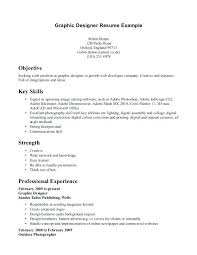Resume For Graphic Designer Sample Great Design Job Application By Examples