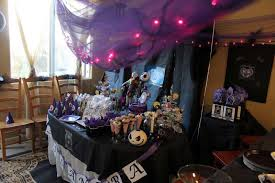 nightmare before christmas birthday party ideas photo 16 of 19