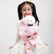 SigzagorBaby Doll Carrier Mei Tai Sling Toy For Kids Children