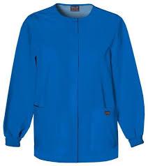 Ceil Blue Print Scrub Jackets by Scrub Jackets Scrub Shopper Free Returns And Discount For New