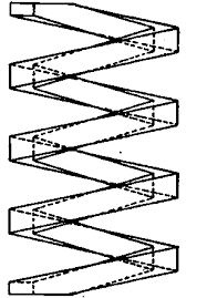 Conventional Drawing For Square Wire Spring