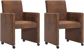 de festnight esszimmerstühle 2 stk modern