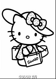 Excellent Hello Kitty Coloring Pages With Hellokids Com And Winx
