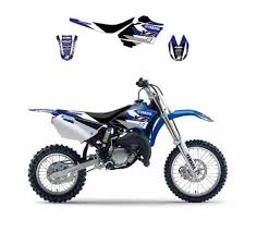 kit deco 85 yz kit déco blackbird graphic 3 yamaha 85 yz 02 14 bleu
