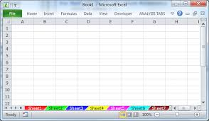 Change The Color Of Sheet Tabs In Excel VBA