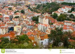 100 Birdview Of Lisbon Portugal Stock Photo Image Of Landscape Stone