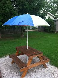 diy childrens picnic table home table decoration