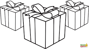 Christmas Presents Coloring Pages Cute Present 60 Pictures