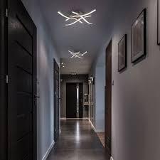 led design deckenle wohnzimmer deckenleuchte modern wellenoptik alu 20 watt
