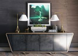 How to Display Artwork in Your Modern Sideboard