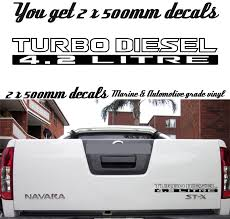 2 X 500mm TURBO DIESEL 4.2 LITRE GQ GU For Nissan Patrol Doors Vinyl ... Ford Diesel Truck Stickers 38829 Enews 2019 Duramax Allison Emblem Decal For Badges Soot Life Graffiti Car Decals Window Page 9 Dodge Cummins Forum Funny Trucks Vinyl For Www Pixshark Dirty Tribal Sticker Flare Llc Whosale 50 Pcslot Power Stroke And Van Stickers Resource Forums Front Chevy Silverado Bing Images Too Much