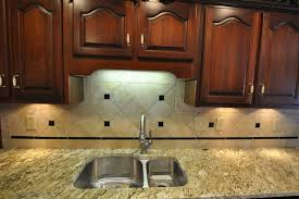 black granite countertops with tile backsplash decoration ideas