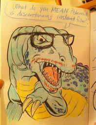 Hipster Dino Coloring Book