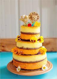 Rustic Wedding Cake No Icing