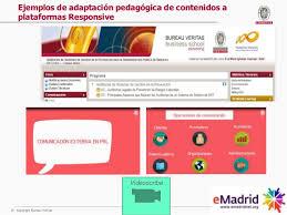 fluido bureau veritas seminario emadrid sobre entornos de aprendizaje adaptativos plataf